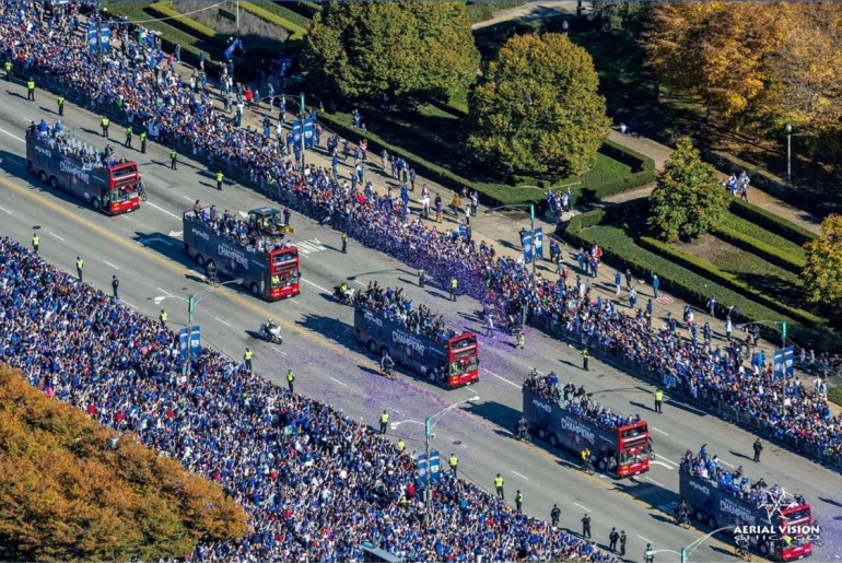 2016 World Series Parade and Rally